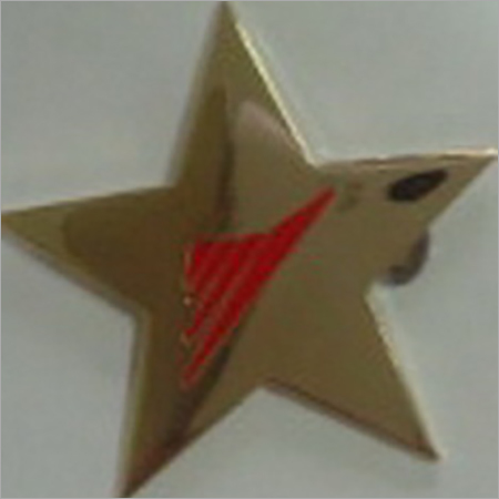 Star Shape Metal Lapel Pin