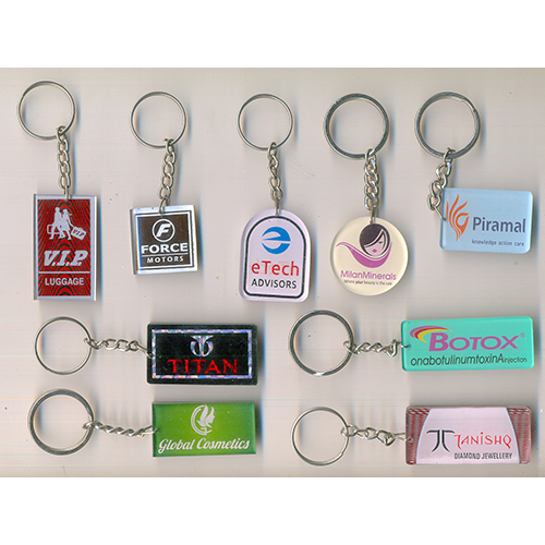 Designer Acrylic Keychain