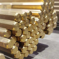 Brass Hexagonal  Rod