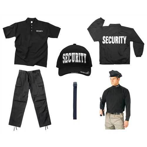 Security Guard Uniforms - Manufacturers & Suppliers, Dealers