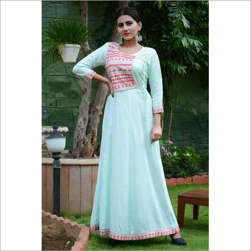 Embroidered Long kurtis