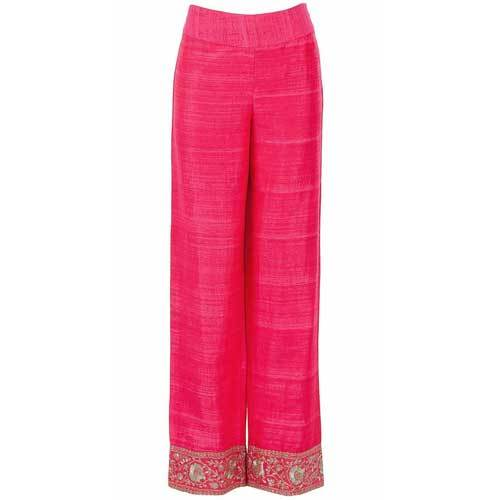 Ladies Designer Silk Palazzo
