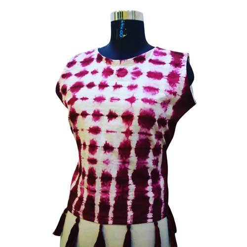 Ladies Tie Dye Top