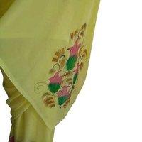 Ladies Hand Printed Saree