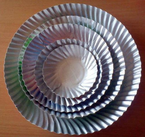 Disposable Paper Plates throw