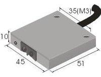 Textile Yarn Break Photoelectric Sensor Switch DU30