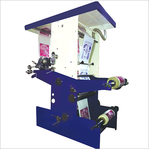 One Colour Flexo Printing Machine