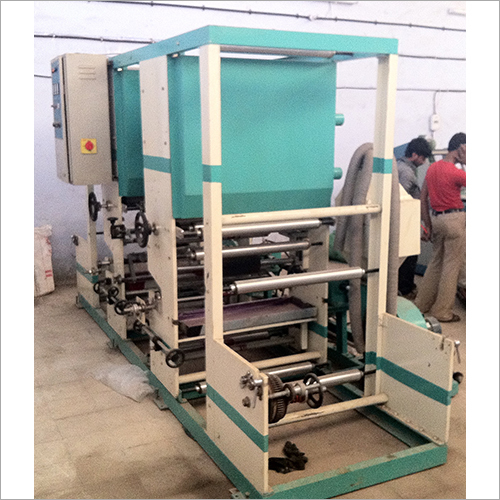 Two Colour High Speed Roto Printing Machine