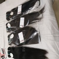 Virgin 9a Straight Hair 100% Human Hair Bundles Natural Color Hair Extension