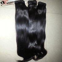 Virgin 9a Straight Hair 100% Human Hair Bundles Natural Color Hair Extension
