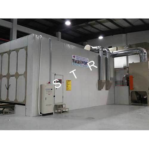 Automatic Mechanical Recycling Type Blast Room