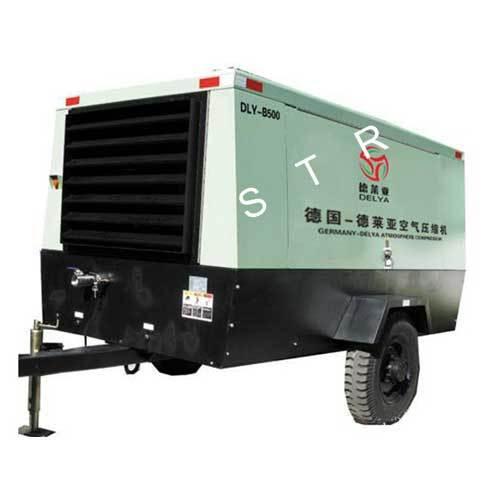 DLY Moving Screw Air Compressor