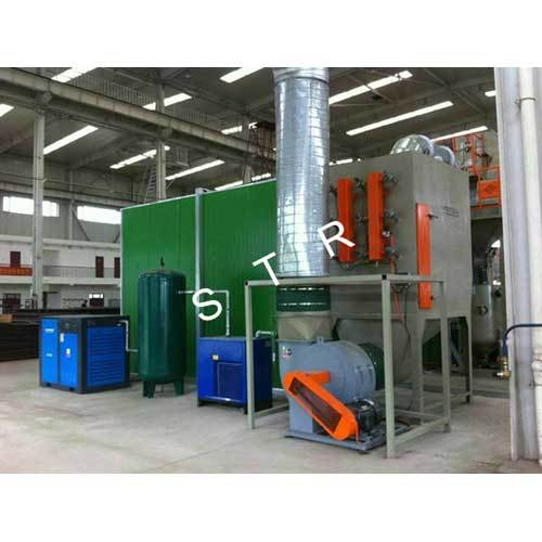 Industiral Cartridge Dust Collector