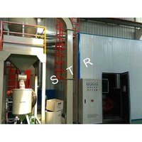 Scraper Type Automatic Recovery Shot Blasting Room
