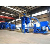 Steel Pipe Inner and Outer Wall Shot Blasting Machine