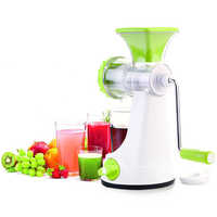 Plastic Fruits Juicer
