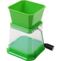 Green Plastic Chilly Cutter
