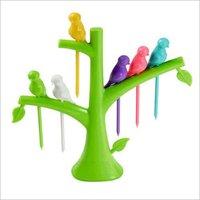 Plastic Fruits Fork