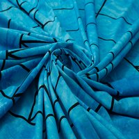 Sun Moon Meditative Blue Color Hand Printed Tie Dye Wholesale 100% Cotton Indian Tapestry