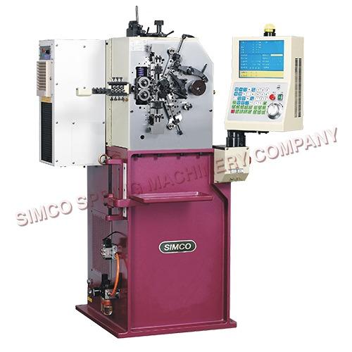 0.13-0.8mm 5 Axes CNC Spring Coiler