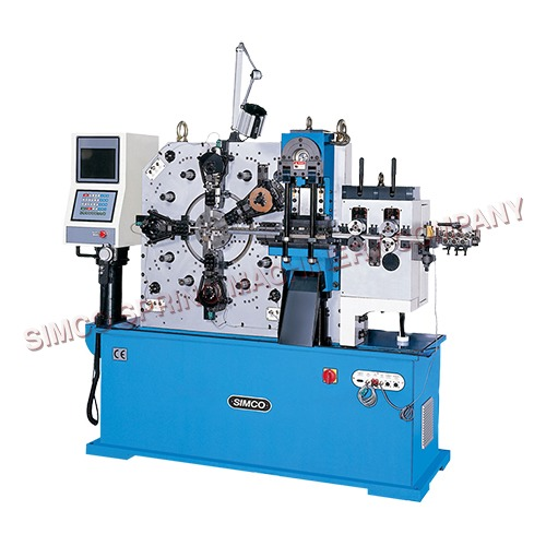 0.3-1.2x30mm 3 Axes Wire/Strip Forming Machine