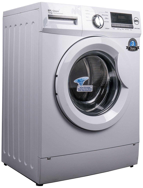 BPL 7.5 kg Fully-Automatic Front Loading Washing Machine