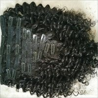 Clip in Deep Curly Hair Extension