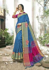 Cotton Silk Traditional Saree