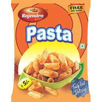 Crispy Pasta Puff Snacks