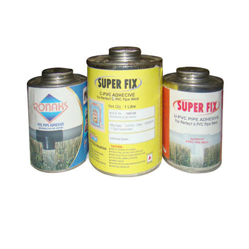 PVC Pipe Adhesive Solvent Cements