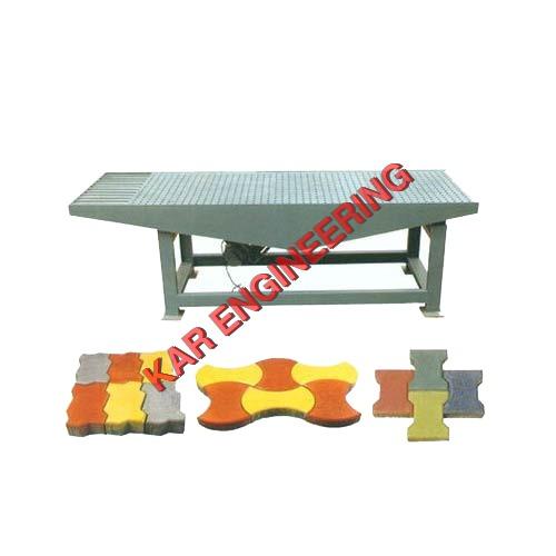 Rubber Mould Paver Vibrating Table