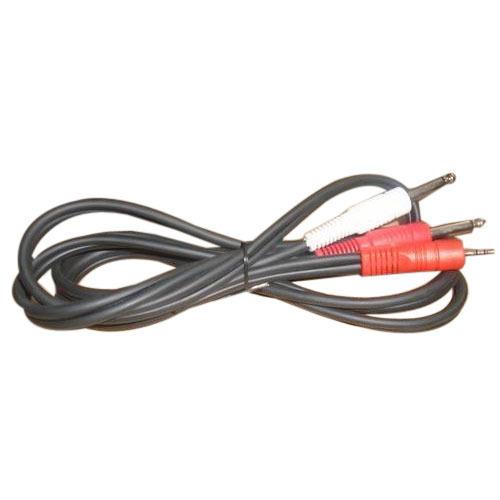 2 Mono P38 Stereo Cable