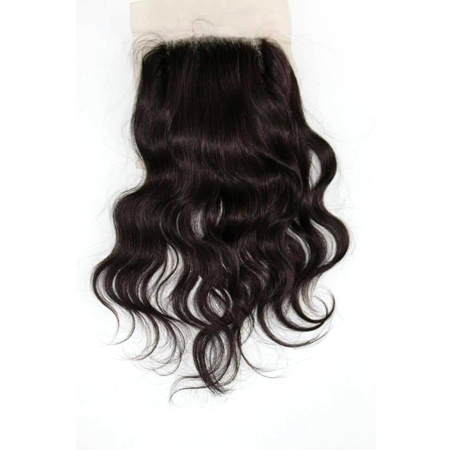 Closure Natural Wavy Hair