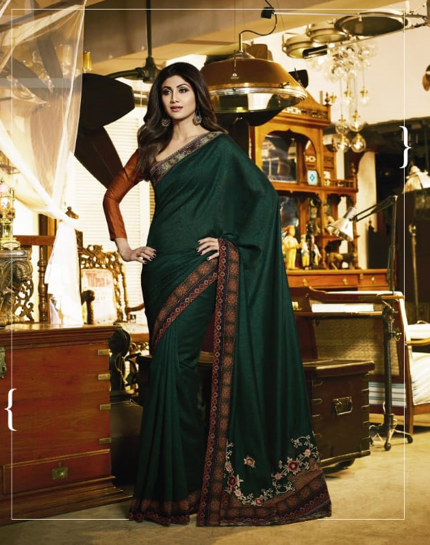 Latest Trendy Georgette Saree