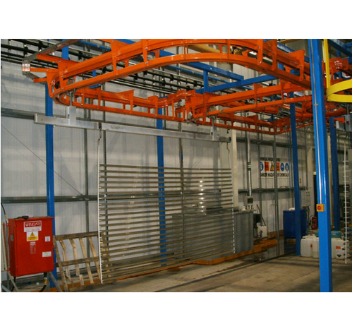 Paint Booth Conveyor
