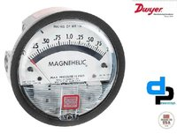 Dwyer 2002 AV Magnehelic Differential Pressure Gauge