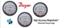 Dwyer 2010D Magnehelic Differential Pressure Gauge