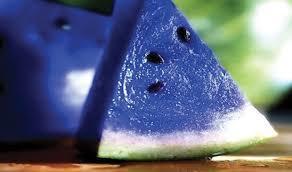 Blue melon flavor