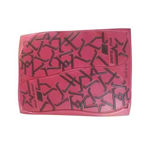 Ladies Designer Slipper Rubber Sole Sheet