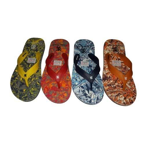 Men's Printed Slipper