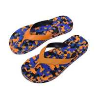 Men's Rubber Printed Slipper