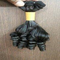 Wholesale Fumi  Natural Indian Temple Cuticle Aligned Human Hair
