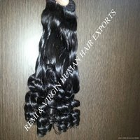 Wholesale Fumi  Natural Indian Temple Cuticle Aligned Human Hair