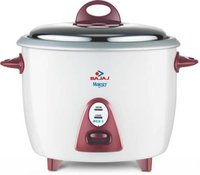 Bajaj Majesty New RCX 3 Electric Rice Cooker  (1.5 L, White)