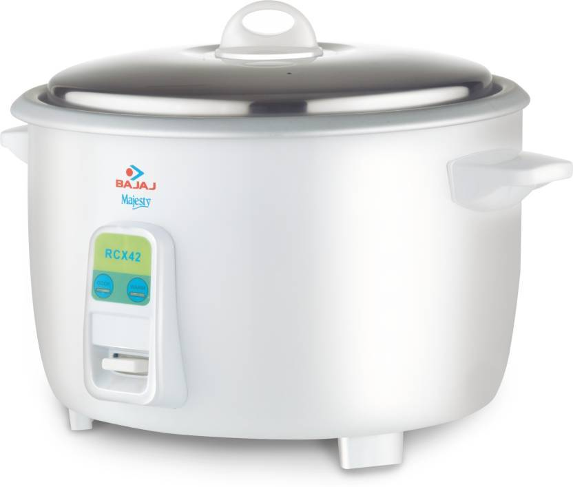 Bajaj Majesty Multifunction Electric Rice Cooker  (4.2 L, White)