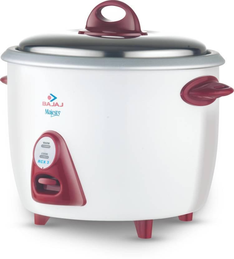 Bajaj Majesty RCX 28 Electric Rice Cooker  (2.8 L)
