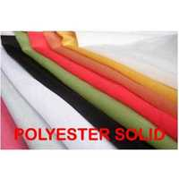 Polyester Solid Fabric