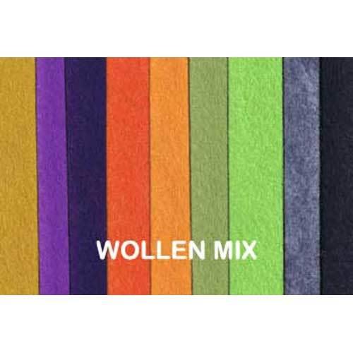 Polyester Woollen Mix Fabric