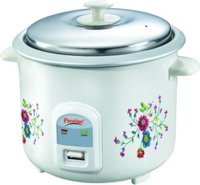 Prestige Prwo 2.2-2 Electric Rice Cooker With Steaming Feature  (2.2 L, White)