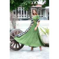 Ladies Casual Wear Printed Long Kurti